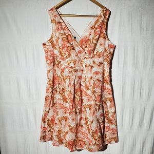 Lands End Fit and Flare Dress Plus Size 18